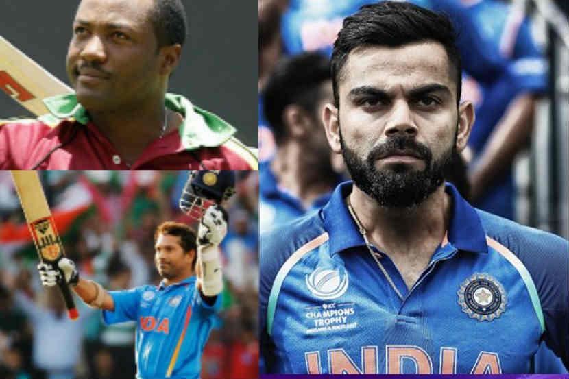 Sachin Tendulkar Brian Lara Virat Kohli