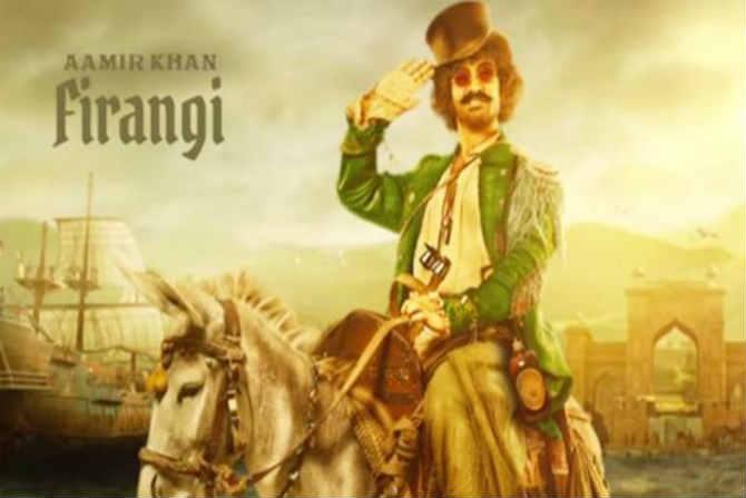 आमिर खान - आमिर या चित्रपटात 'फिरंगी'च्या भूमिकेत आहे. आमिरचा हा लूक 'पायरेट्स ऑफ कॅरेबिअयन'मधल्या जॅक स्पॅरोच्या जवळ जाणारा आहे. त्यामुळे ठग्स 'पायरेट्स ऑफ कॅरेबिअयन'चं देसी व्हर्जन आहे की काय अशा चर्चा रंगत आहे.