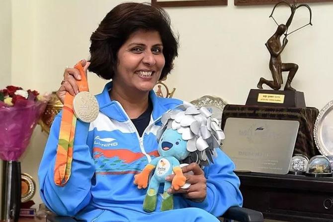 दीपा मलिक: २०१६ साली रिओ येथे झालेल्या पॅरालिम्पिक स्पर्धेत पदक जिंकणारी पहिली भारतीय महिला