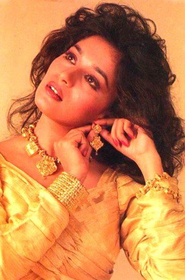 माधुरीला बॉलिवूडमध्ये स्थान मिळवून देणारा सिनेमा म्हणजे १९८८ साली प्रदर्शित झालेला 'तेजाब'. बॉक्स ऑफिसवर माधुरीचा हा पहिला हिट चित्रपट होता. या चित्रपटाकरिता तिला सर्वोत्कृष्ट अभिनेत्री म्हणून फिल्मफेअर पुरस्काराने सन्मानित करण्यात आले होते.