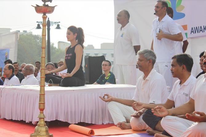 या कार्यक्रमाला अभिनेत्री शिल्पा शेट्टीही उपस्थिती लावली होती.