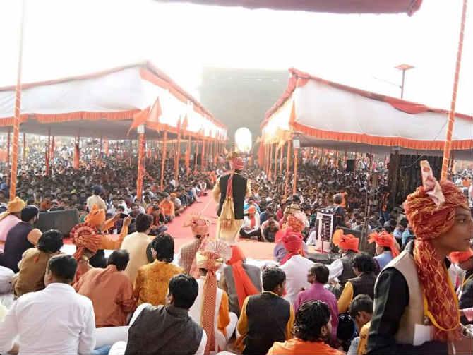 अखिल भारतीय शिवराज्याभिषेक महोत्सव समितीच्यावतीने हा सोहळा साजरा करण्यात येत आहे.