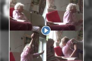 Viral Video : आजीबाई जोरात… इंग्लंडच्या विजयानंतर केलं धमाकेदार सेलिब्रेशन!