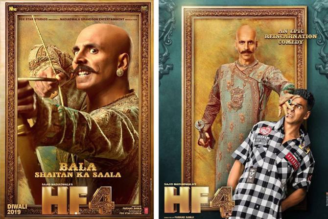 अक्षय कुमार राजकुमार बाला आणि हॅरी अशा दोन भूमिका तो साकारणार आहे.