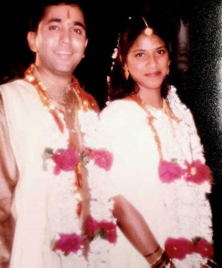 अभिनेता पुष्कर श्रोत्रीच्या लग्नातील फोटो