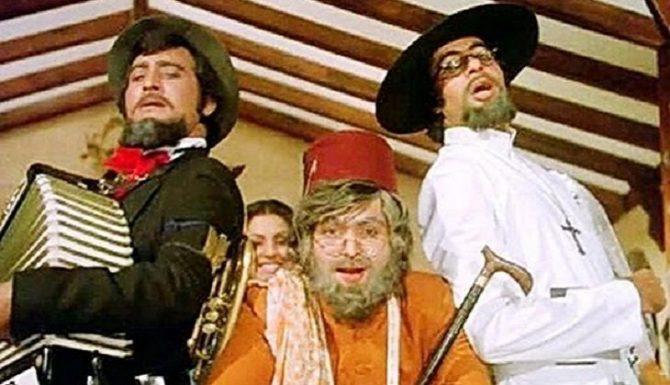 विनोद खन्ना, अमिताभ बच्चन आणि ऋषी कपूर यांचा 'अमर, अकबर, अँथनी' हा चित्रपट कोणीच विसरू शकत नाही.